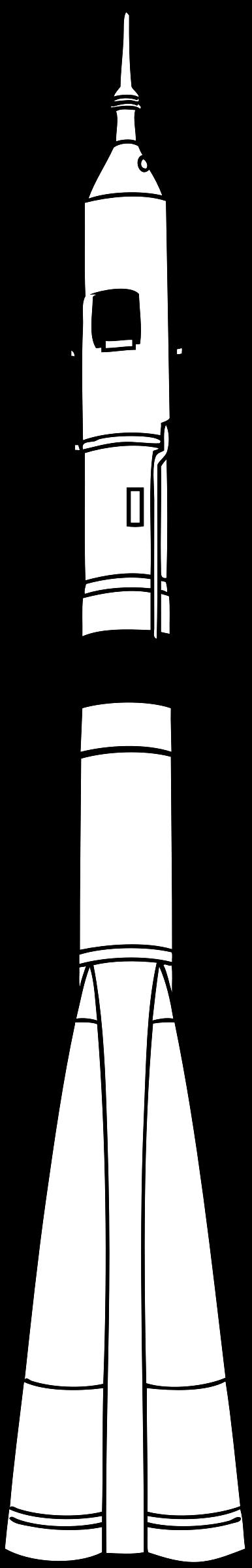 Soyuz big image png. Clipart rocket drawing