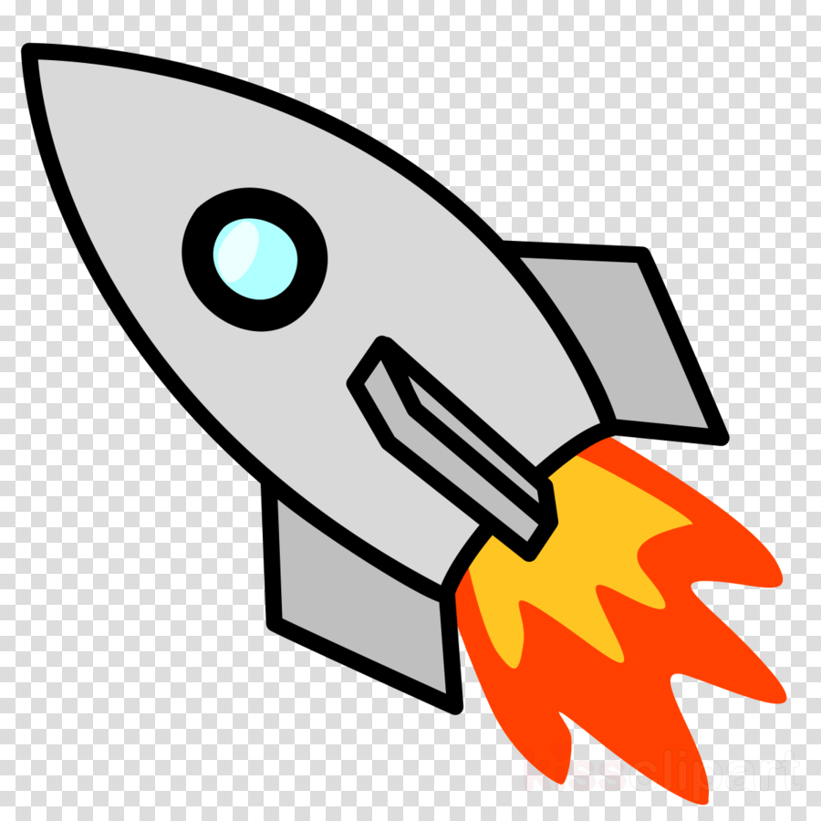 Technology background graphics . Clipart rocket drawing