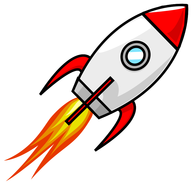 Rocket cartoon drawing at. Spaceship clipart guardians the galaxy