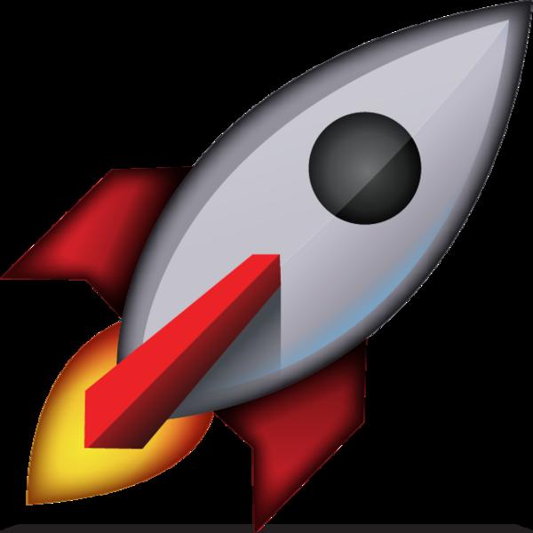 Download icon island . Clipart rocket emoji