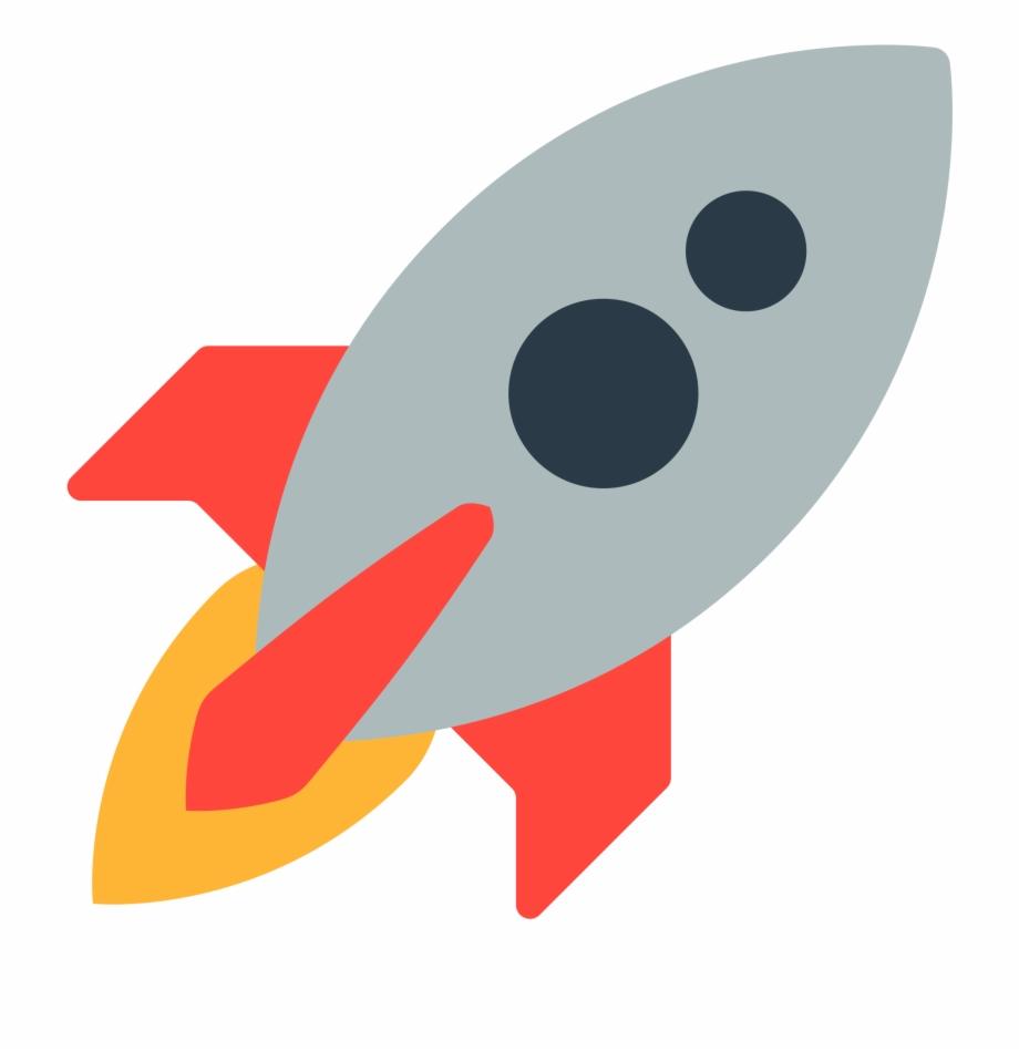 Spaceship svg animated facebook. Clipart rocket emoji