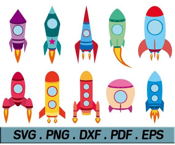Clipart rocket file. Svg bundle ship vector
