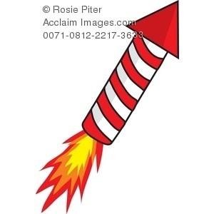 Firecracker clipart rocket. Free download best