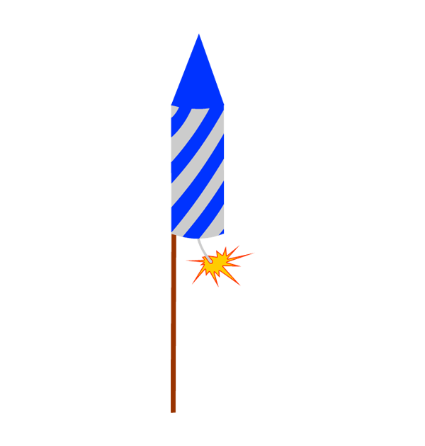 Clipart rocket firework.  collection of high