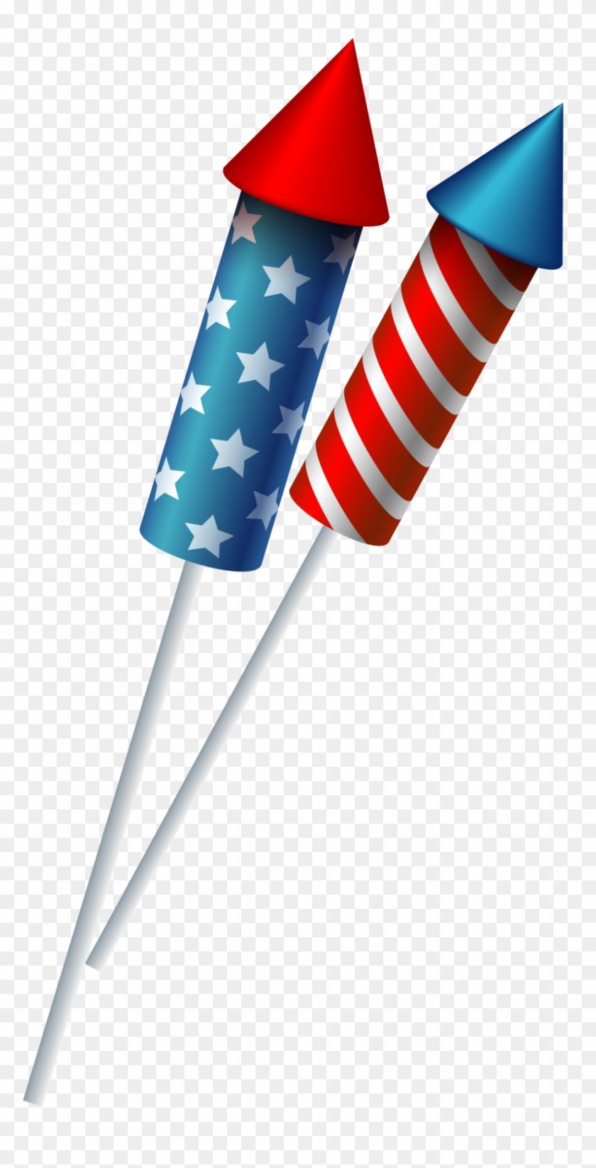 Flag fireworks sparklers clip. Clipart rocket firework