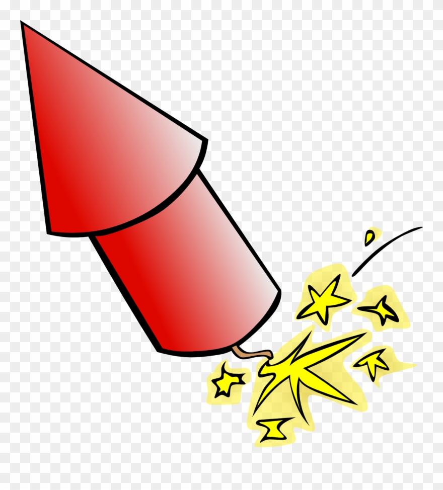 Fireworks openclipart firework clip. Firecracker clipart rocket