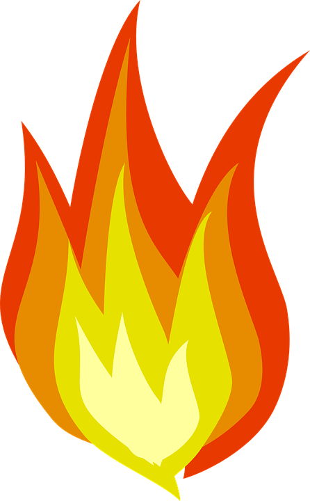 Heat clipart temperture. Flames color cliparts shop