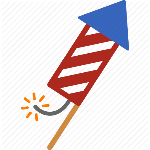 Clipart rocket fourth july. Of background technology