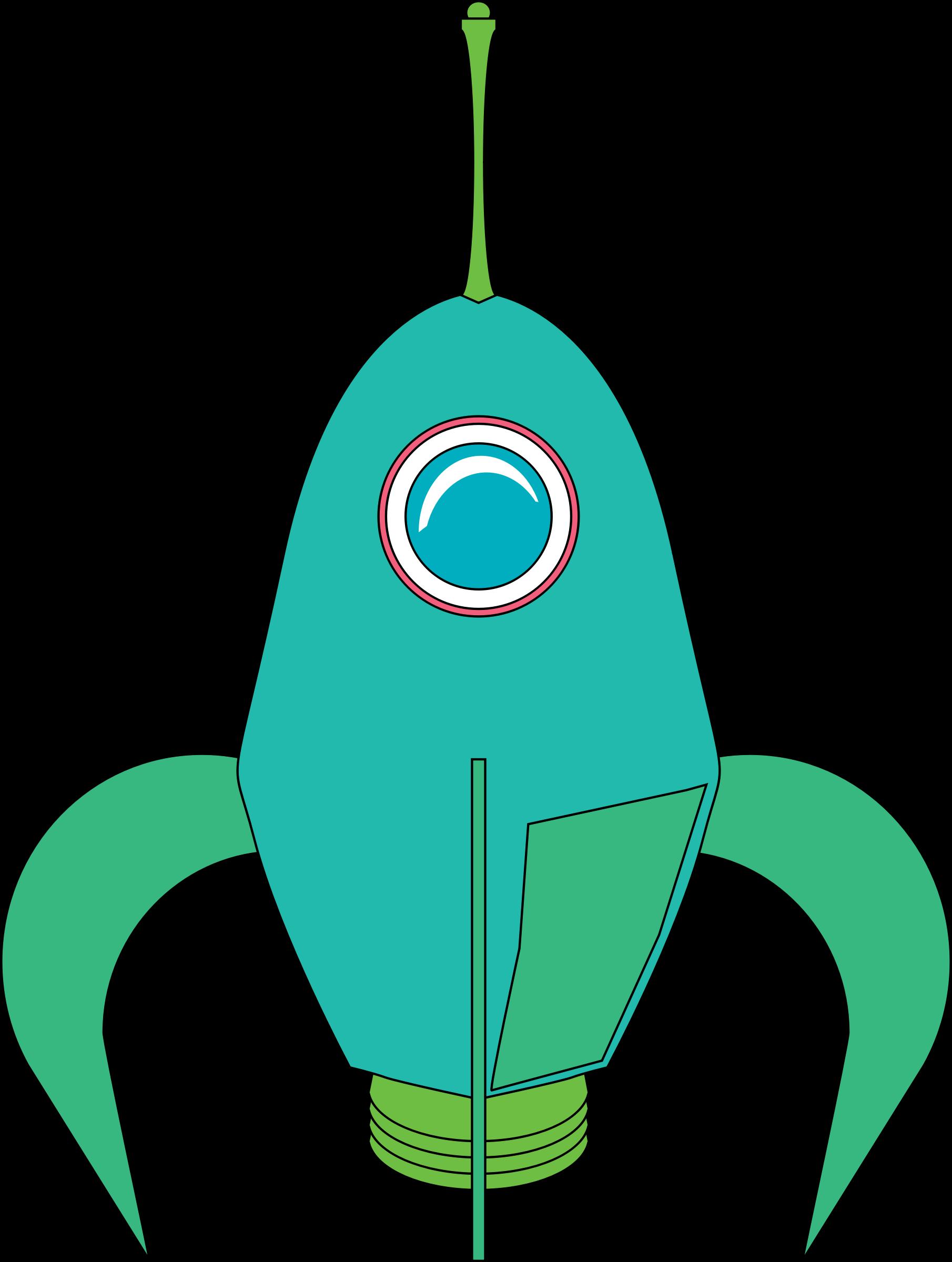 Futuristic big image png. Clipart rocket future