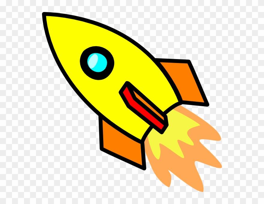 Cartoon ship png transparent. Clipart rocket future