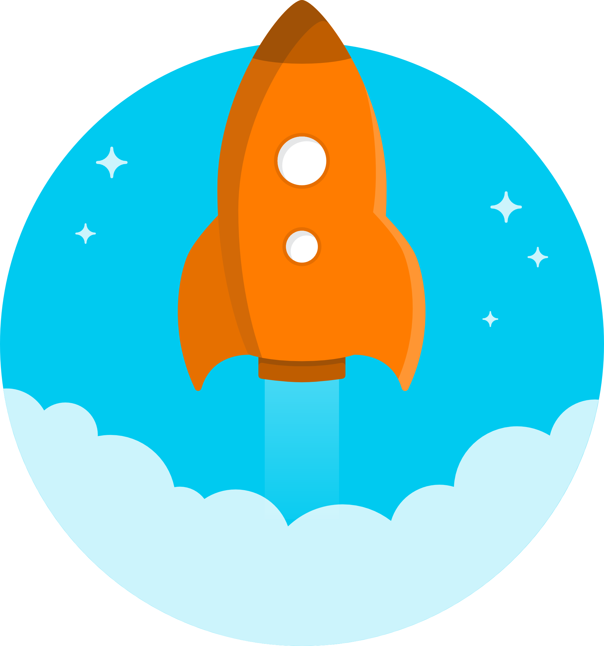 Blue and red black. Clipart rocket gambar