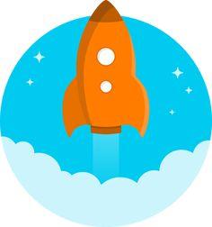 best rockets images. Clipart rocket gambar