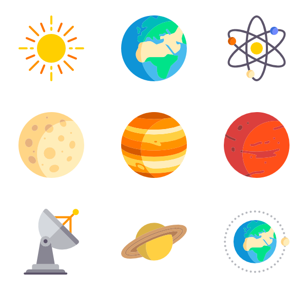 Rocket icons free vector. Clipart science icon