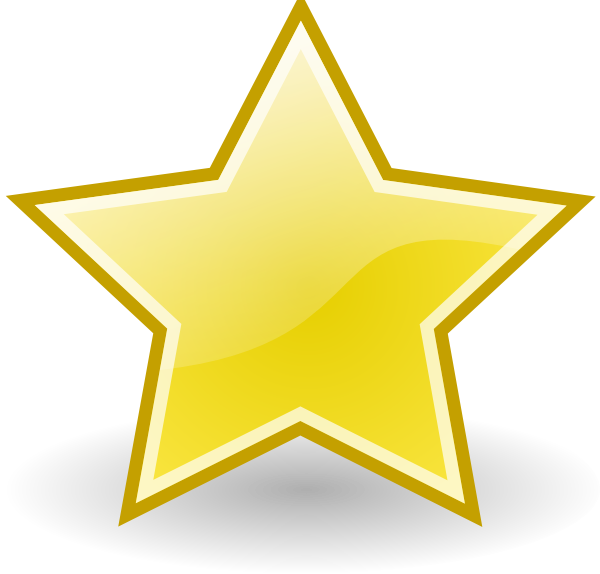 Clipart stars trophy. Rocket emblem star clip