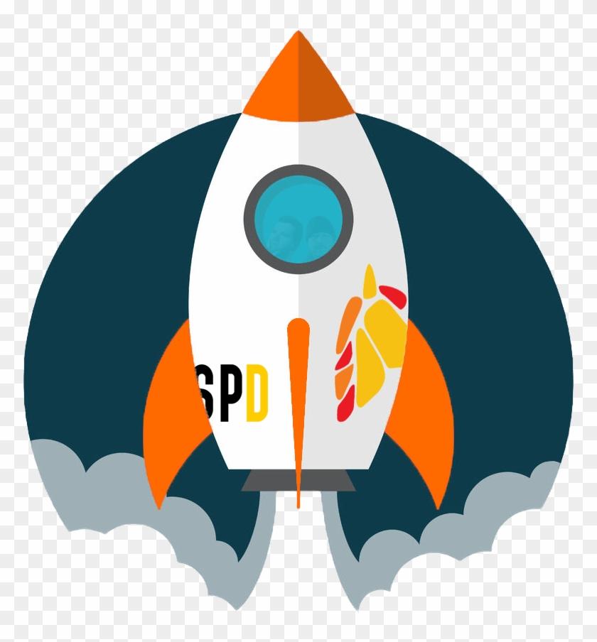 Launch spd raketenstart hd. Clipart rocket launched
