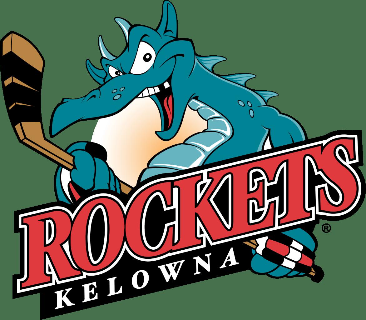Clipart rocket logo. Kelowna rockets transparent png