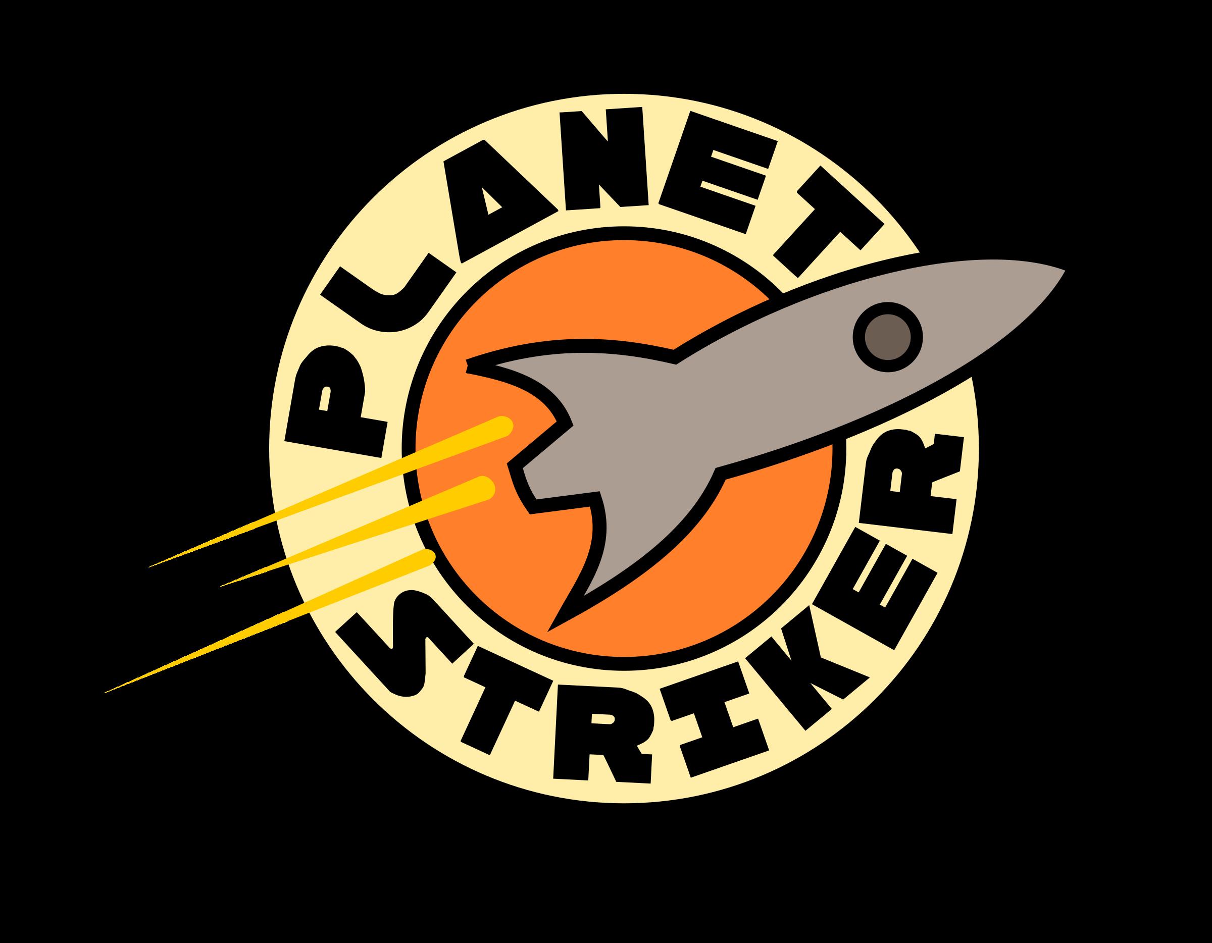 Planet striker big image. Clipart rocket logo