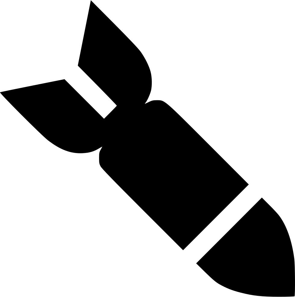 Missile svg png icon. Clipart rocket missle