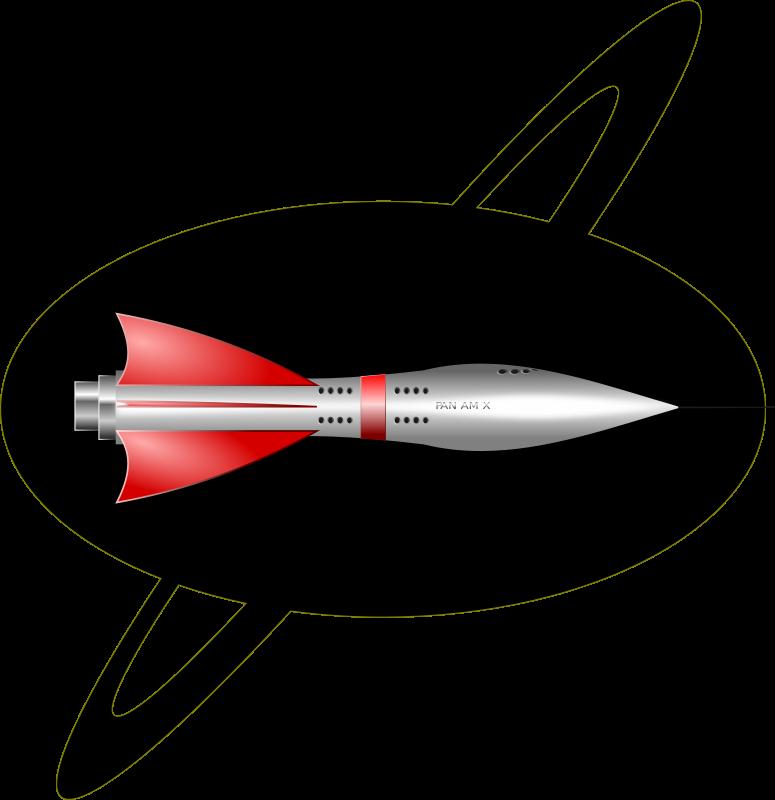 Clipart rocket missle. S ship medium image