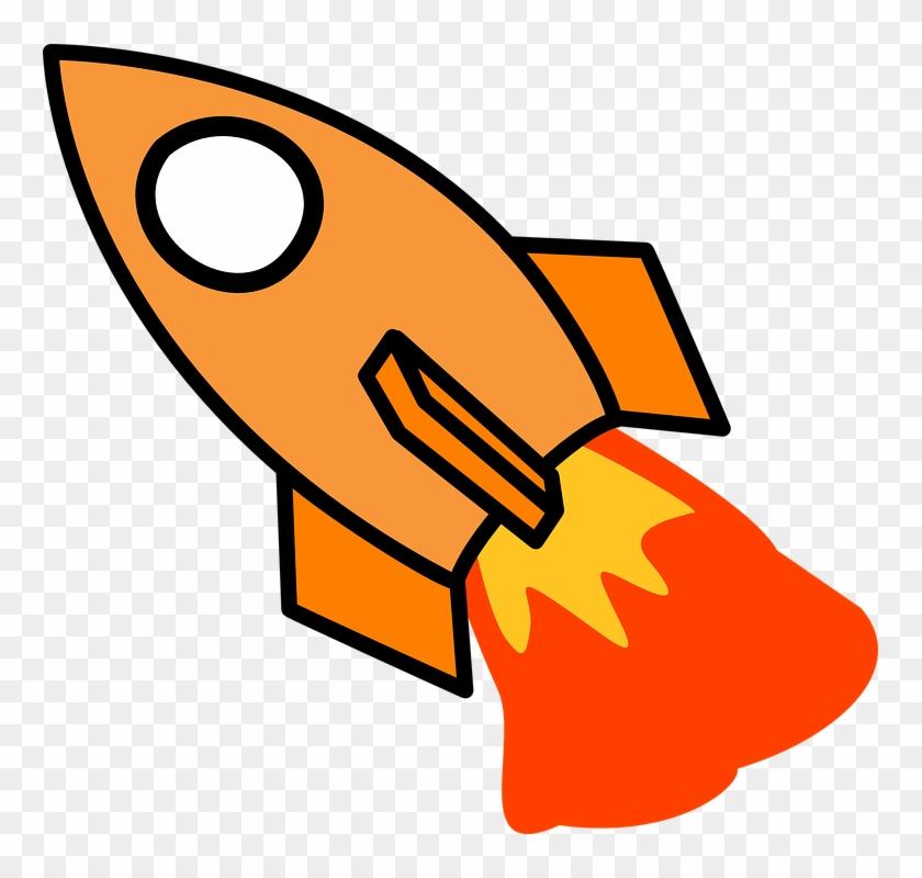 Spaceship clip art hd. Clipart rocket orange rocket