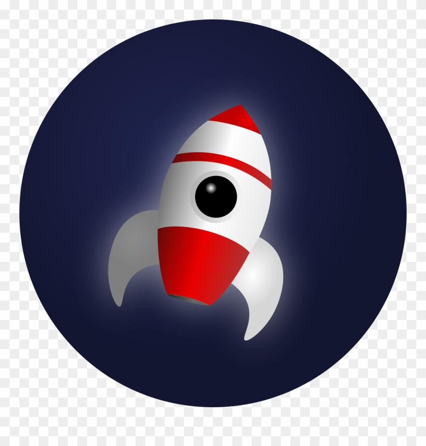 Clipart rocket outer space. Free in png