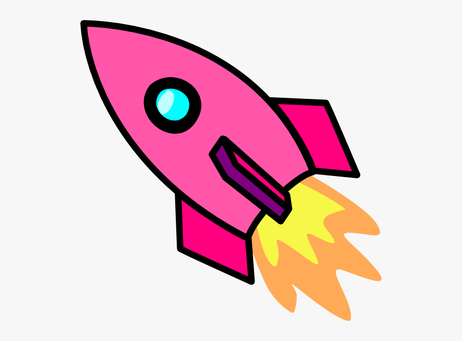 Clipart rocket pink rocket. Clip art ship free