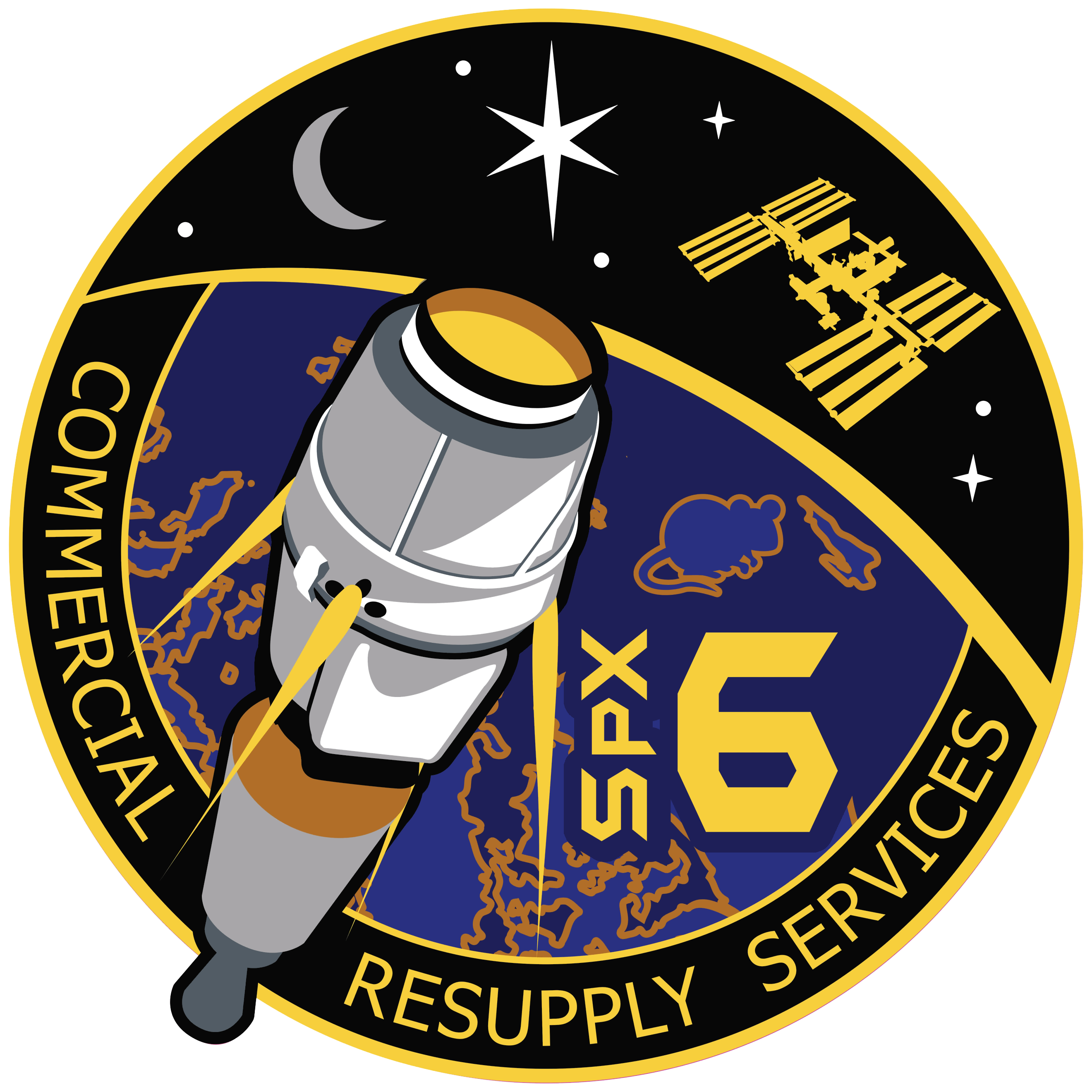 Nasa insignia for the. Clipart rocket plume
