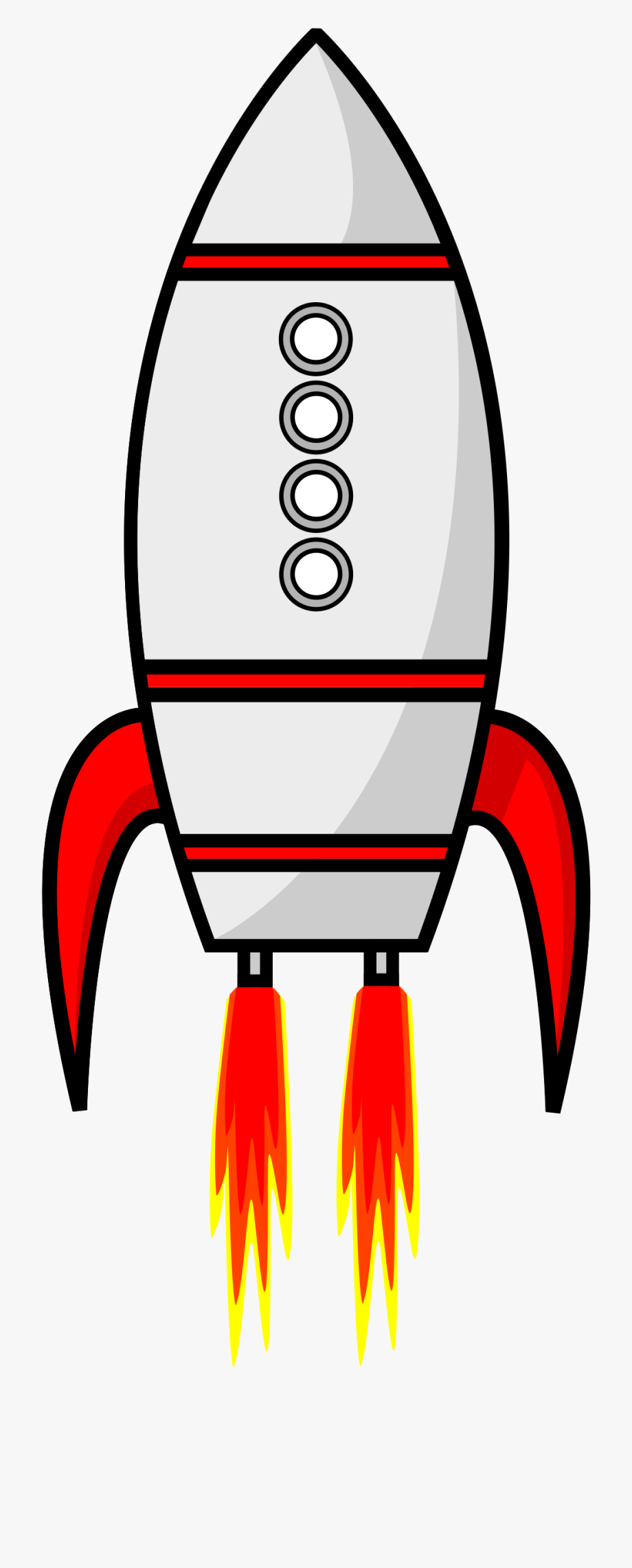 Moon remix cartoon ship. Clipart rocket ricket