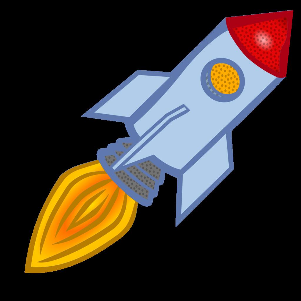Clipart rocket ricket. Launch spacecraft clip art