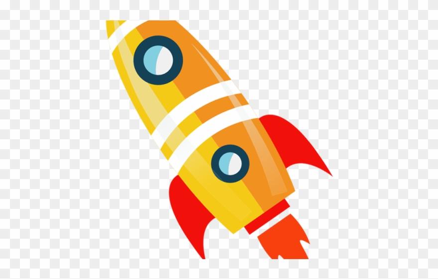 Flames cartoon flying png. Clipart rocket rocket booster