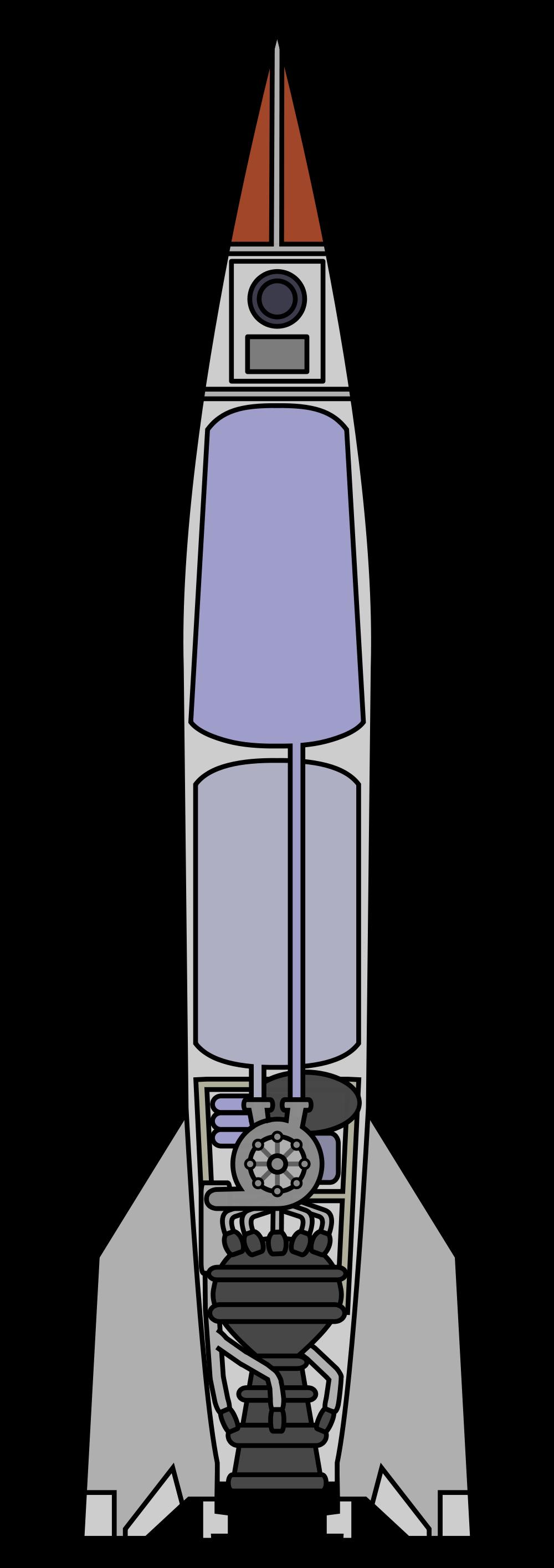 Clipart rocket rocket engine. File v diagram no