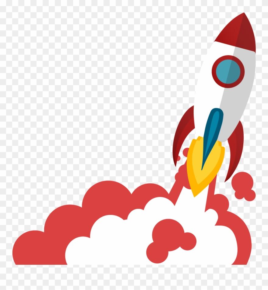 Launching png download . Clipart rocket rocket launch