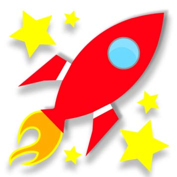 . Clipart rocket rocket math