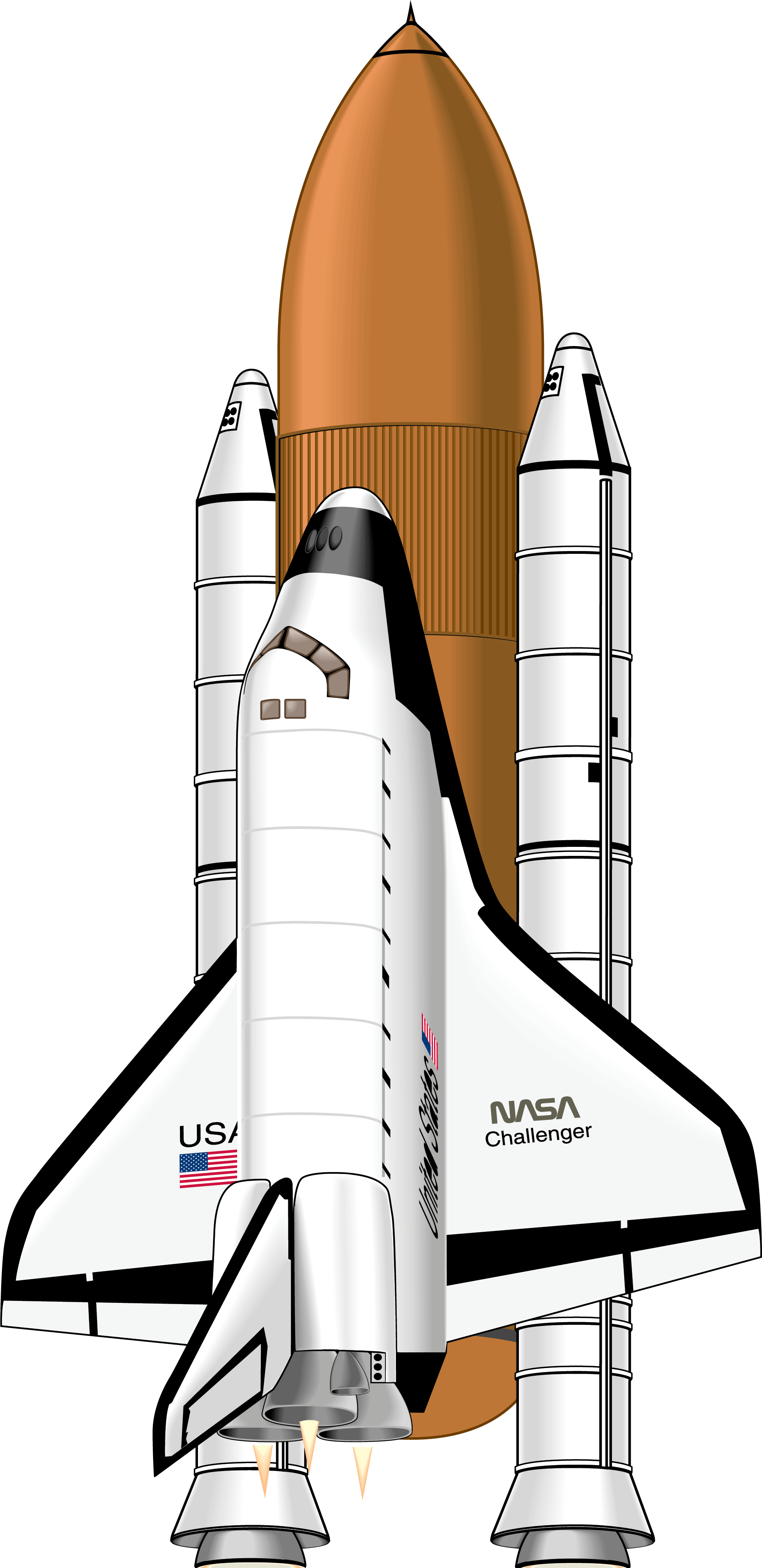 Best Nasa Space Shuttle Vector Pictures