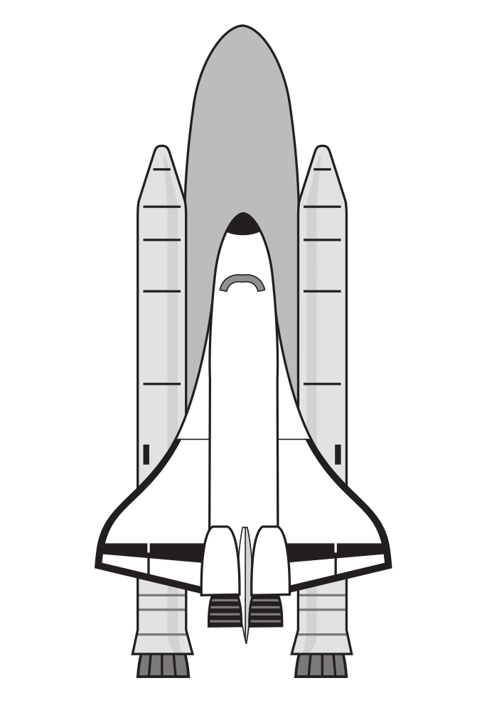 Onlinelabels clip art nasa. Spaceship clipart water bottle rocket