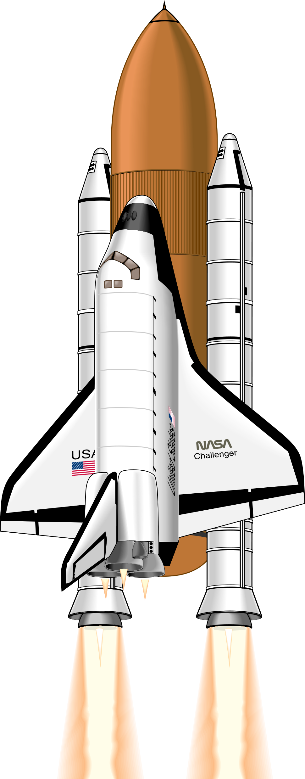 Spaceship clipart missile launch. Nasa drawing at getdrawings