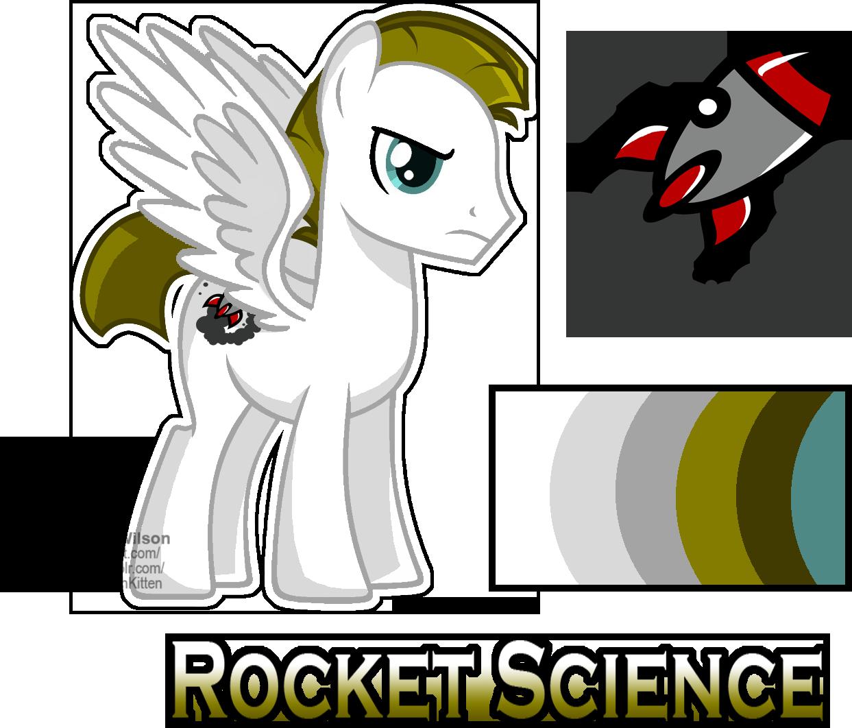Image mlp oc science. Clipart rocket rocket scientist