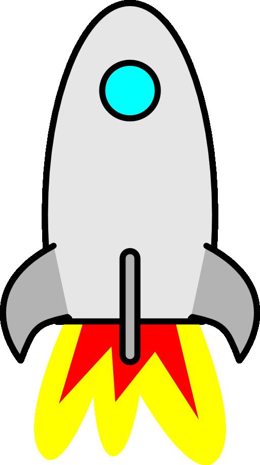 Clipart rocket scifi. I royalty free public