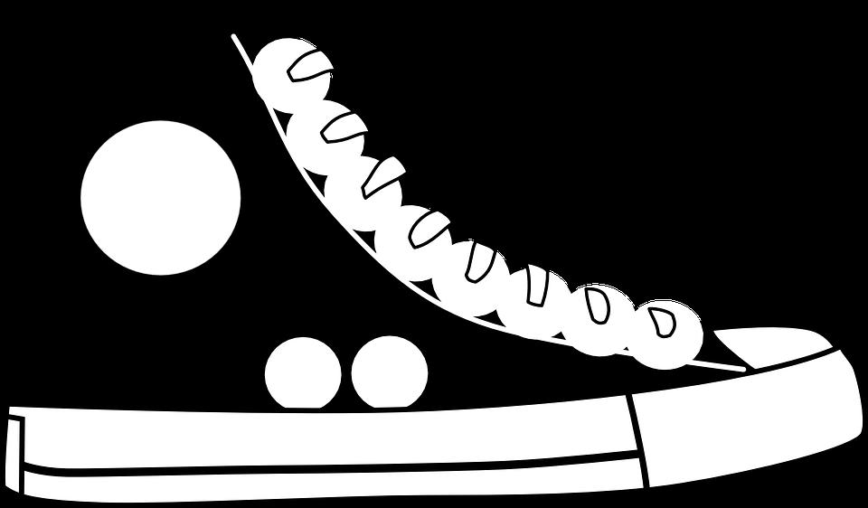 Clipart shoes baseball.  funny shoe blackandwhiteshoesclipart