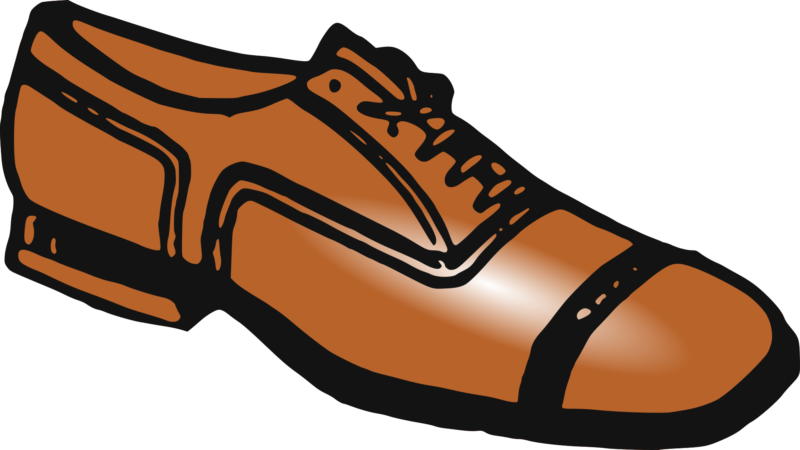 Free shoes black and. Clipart rocket shoe