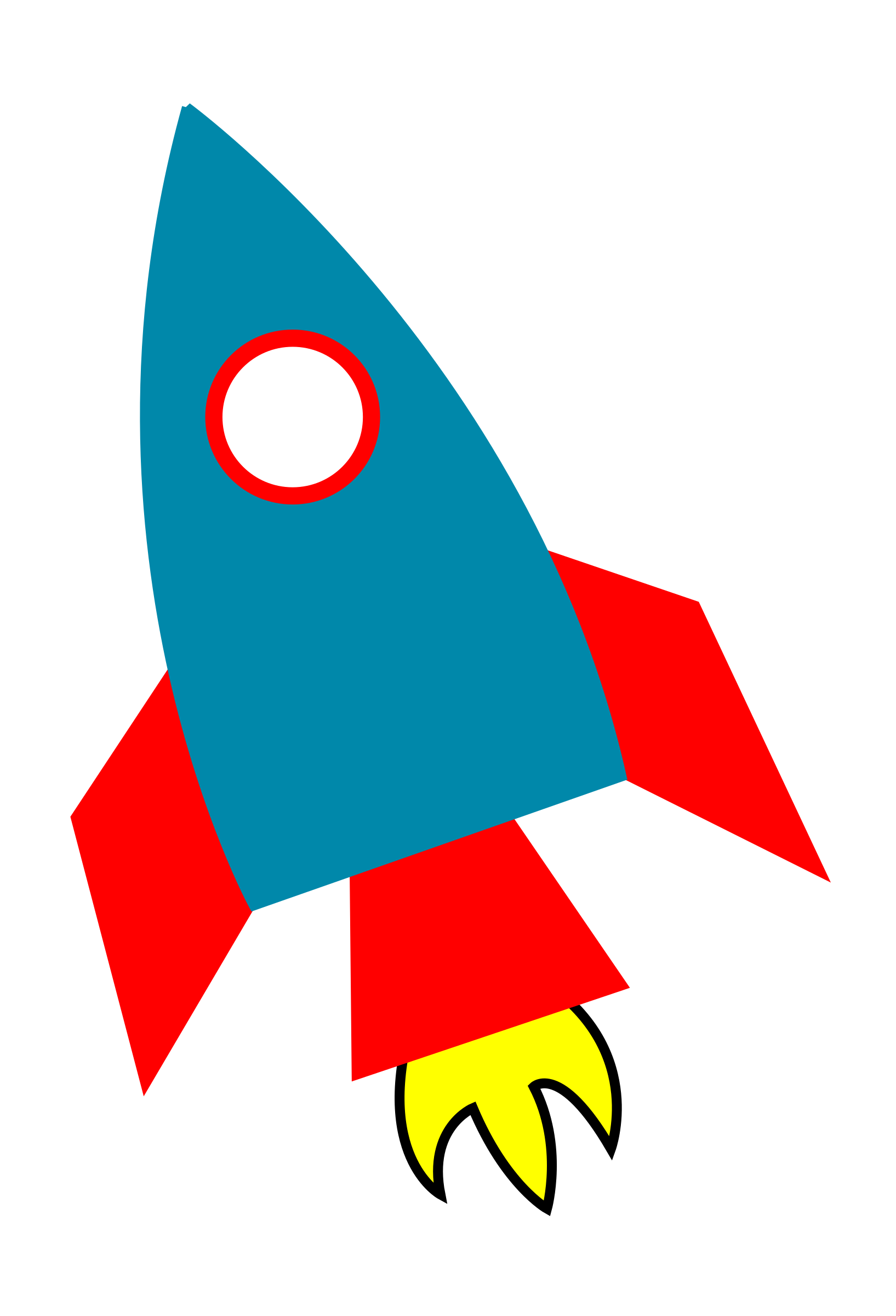 collection of space. Clipart rocket simple rocket