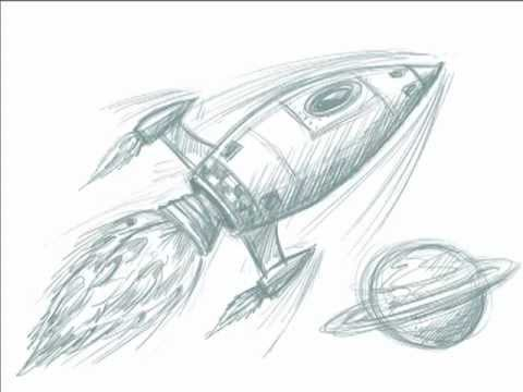 Free ship drawing download. Clipart rocket sketches