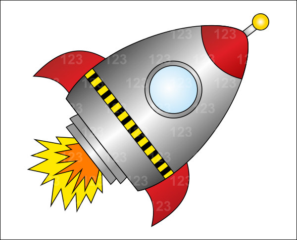 Free download best . Clipart rocket space craft