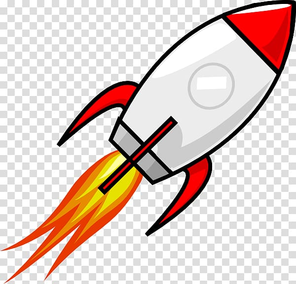 Spaceship clipart rocket. Spacecraft cartoon transparent