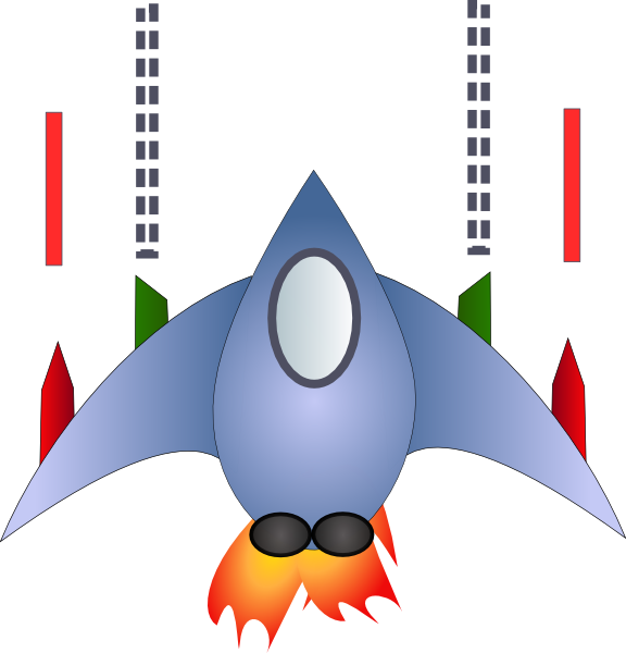 Space ship clip art. Ham clipart vector