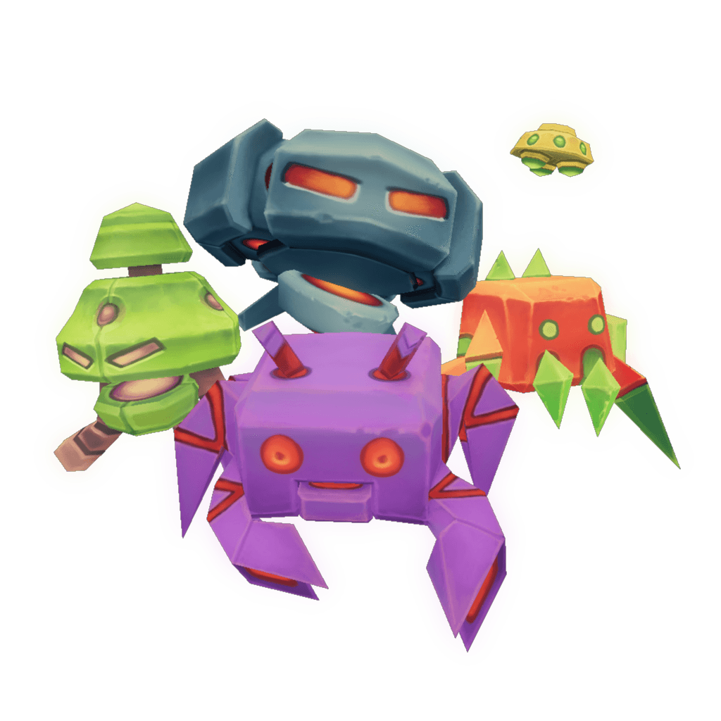 Low poly d models. Clipart rocket space invaders