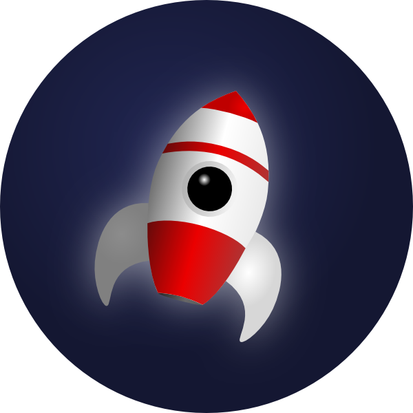 Clipart rocket space rocket. In clip art at