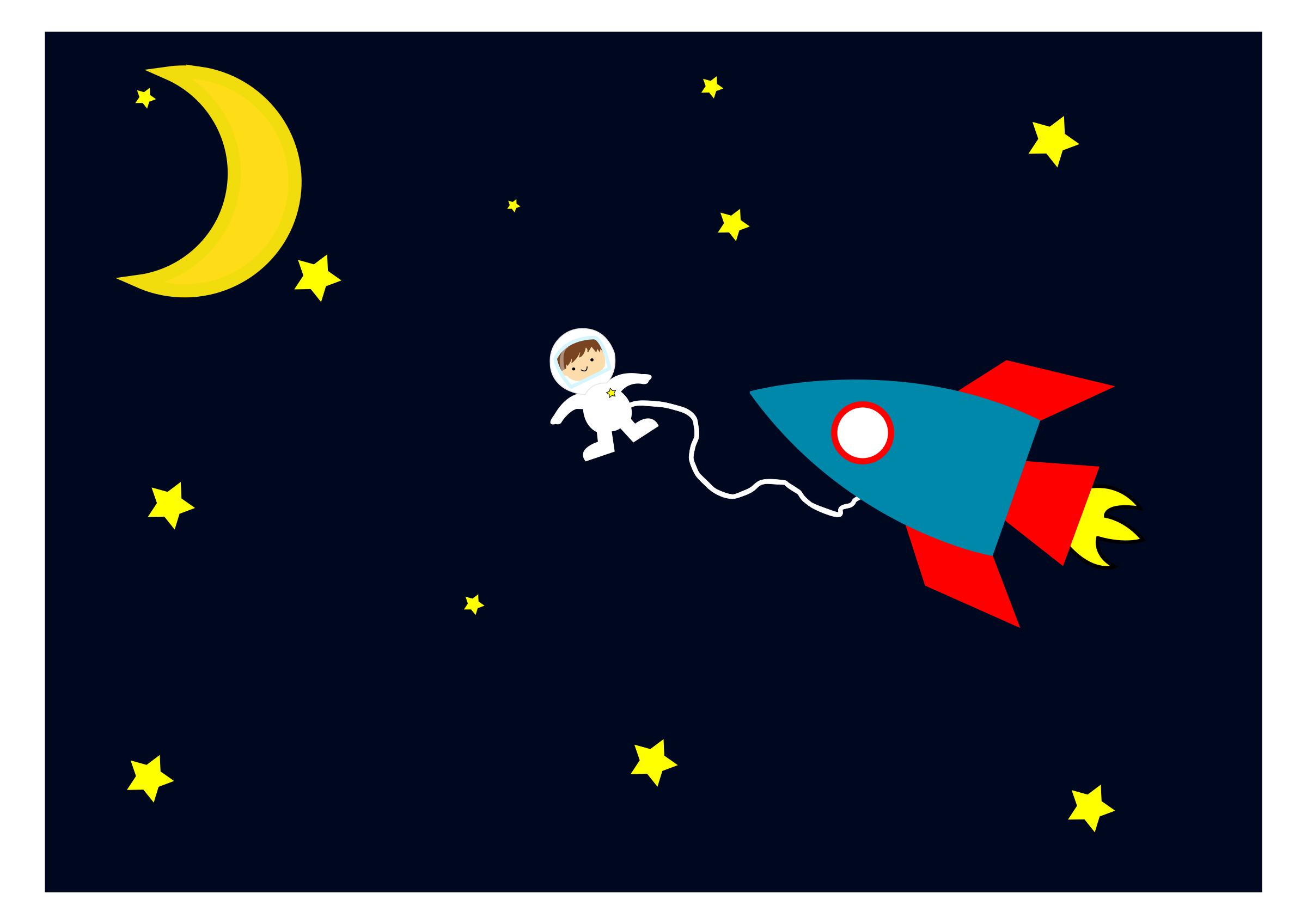 Astronaut out of the. Clipart rocket space rocket