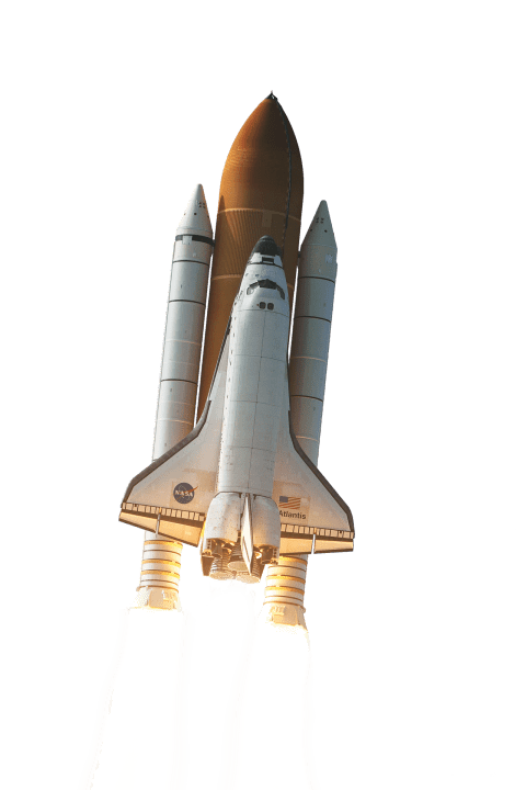 Clipart rocket space shuttle. Starting png free images