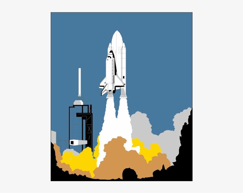 Pad clip art launch. Clipart rocket space shuttle